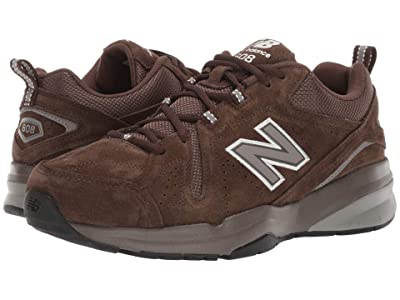 New Balance 608v5 (Chocolate Brown/White) Men