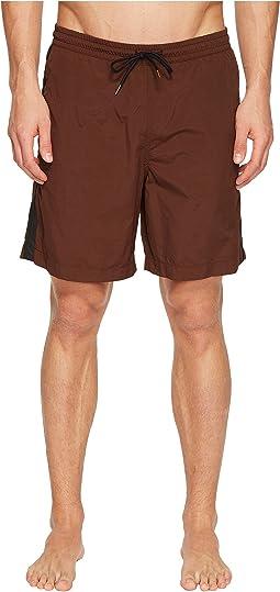Taped Swim Shorts