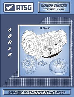 ATSG 68RFE Manual DODGE Transmission Repair Manual (68RFE Gasket 68RFE Rebuild Kit 68RFE Transmission Pan 68RFE Transmissi...