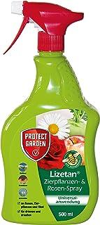 PROTECT GARDEN Lizetan AF Zierpflanzen-und Rosen-Spray ehem. Bayer Garten, gegen Schädlinge an Rosen, Zierpflanzen, Obst und Gemüse Blattläuse, Spinnmilben, Schildläuse, uvm., 500 ml