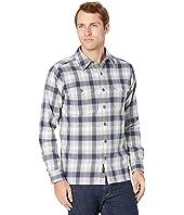 Movatn Heavyweight Flannel Long Sleeve Shirt