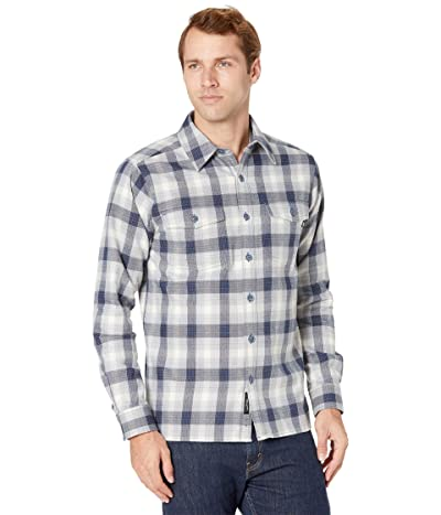Marmot Movatn Heavyweight Flannel Long Sleeve Shirt (Dark Indigo) Men