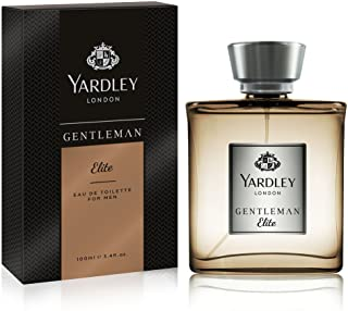 Yardley Gentleman Elite luxury fragrance Eau de Parfum, Basil, grapefruit, sandalwood and amber, 100ml
