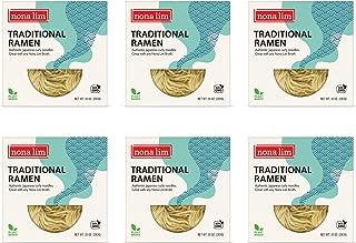 Nona Lim Fresh Traditional Ramen Noodles (10 oz., 6 Count) - Vegan, Dairy Free