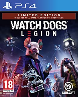 Watch Dogs Legion Limited Edition (Exclusive to Amazon.co.uk) (PS4) by Ubisoft