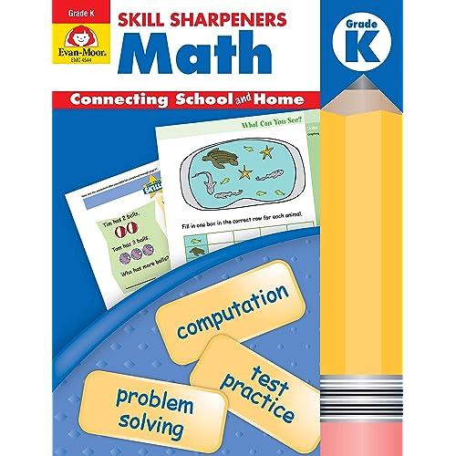 Skill Sharpeners Math, Kindergarten