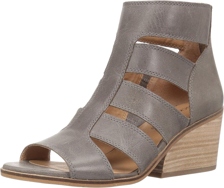 Lucky Brand Womens Sortia Wedge Sandal
