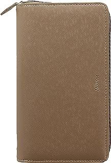 Filofax 2020 Personal Compact Zip Organizer, Saffiano Fawn, 6.75 x 3.75 inches (C028759-20)
