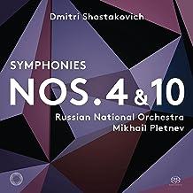 Symphonies 4 & 10