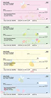 Bee Sweet Honey Top Tear Value Priced Personal Checks (1 Box of Singles, Qty. 125)