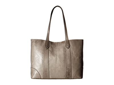 Frye Melissa Shopper (Ice Antique Pull Up) Hobo Handbags