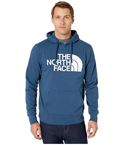 The North Face Half Dome Pullover Hoodie (Blue Wing Teal/TNF White) Men