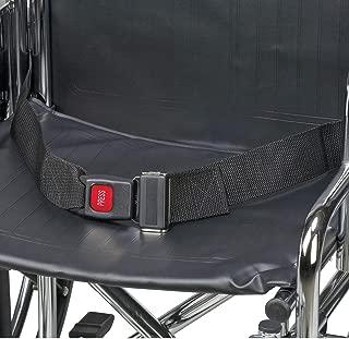 DMI Wheelchair Seat Belt, Wheelchair Safety Harness, Black