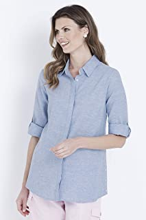 W.Lane Button Detail Shirt - Womens