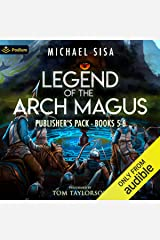 Legend of the Arch Magus: Publisher's Pack 3: Books 5-6 Audible Audiobook