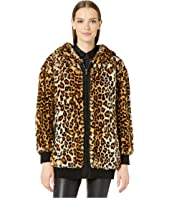 Boutique Moschino - Faux Fur Leopard Jacket