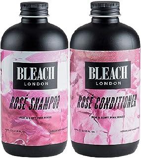 (Pack of 2) Bleach London Rose Shampoo x 250ml & Rose