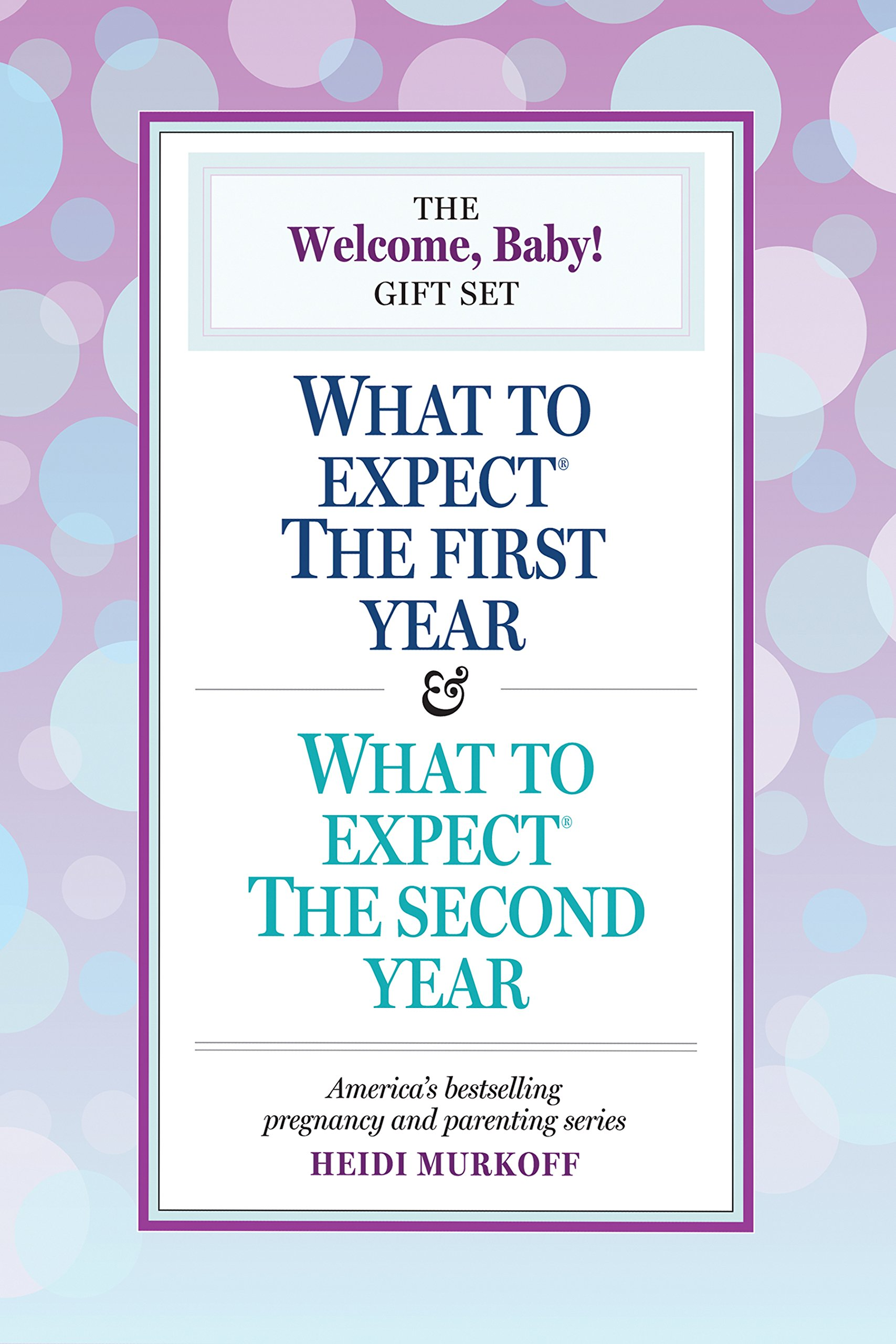 Download What To Expect: The Welcome, Baby Gift Set: (includes What To Expect The First Year And What To Expect The Second Year) 