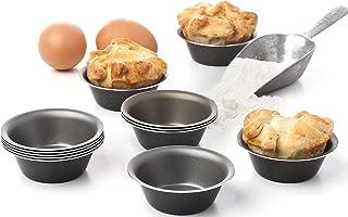 Pack of 12 Mini Pie Muffin Cupcake Pans egg Tart Bakeware - 3 Inch Tins - 12 Molds NonStick bakeware