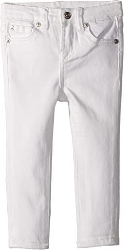 The Skinny Jeans in Clean White (Toddler)