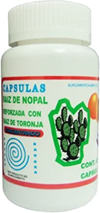 La Gran Naturista Cactus With Grapefruit Weight Loss Burn Fat Capsules by La Gran Naturista