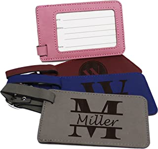 Personalized Luggage Tag - Engraved Business Travel Accessories Gift