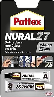 Pattex 14010117 Nural-27 Aluminio gris (Juego 2 Tubos 22 cm