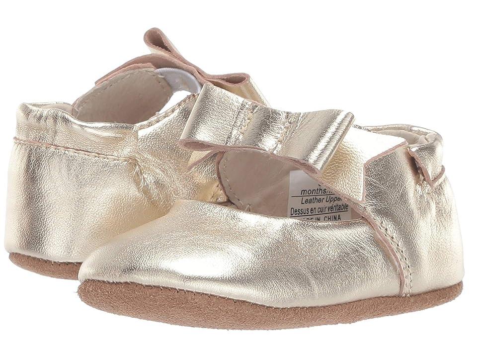 Robeez Sofia First Kicks (Infant/Toddler) (Gold) Girl