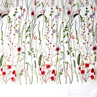 Best flower lace fabric Reviews