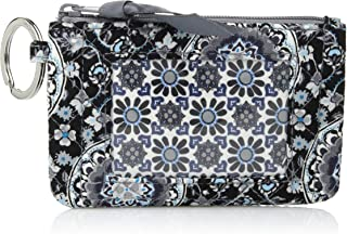 Women's Signature Cotton Novelty Zip ID Case