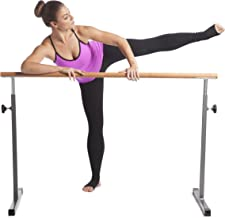 GoFit GoBarre Home Workout Set – Adjustable, Portable Ballet Barre w/Resistance Bands,..