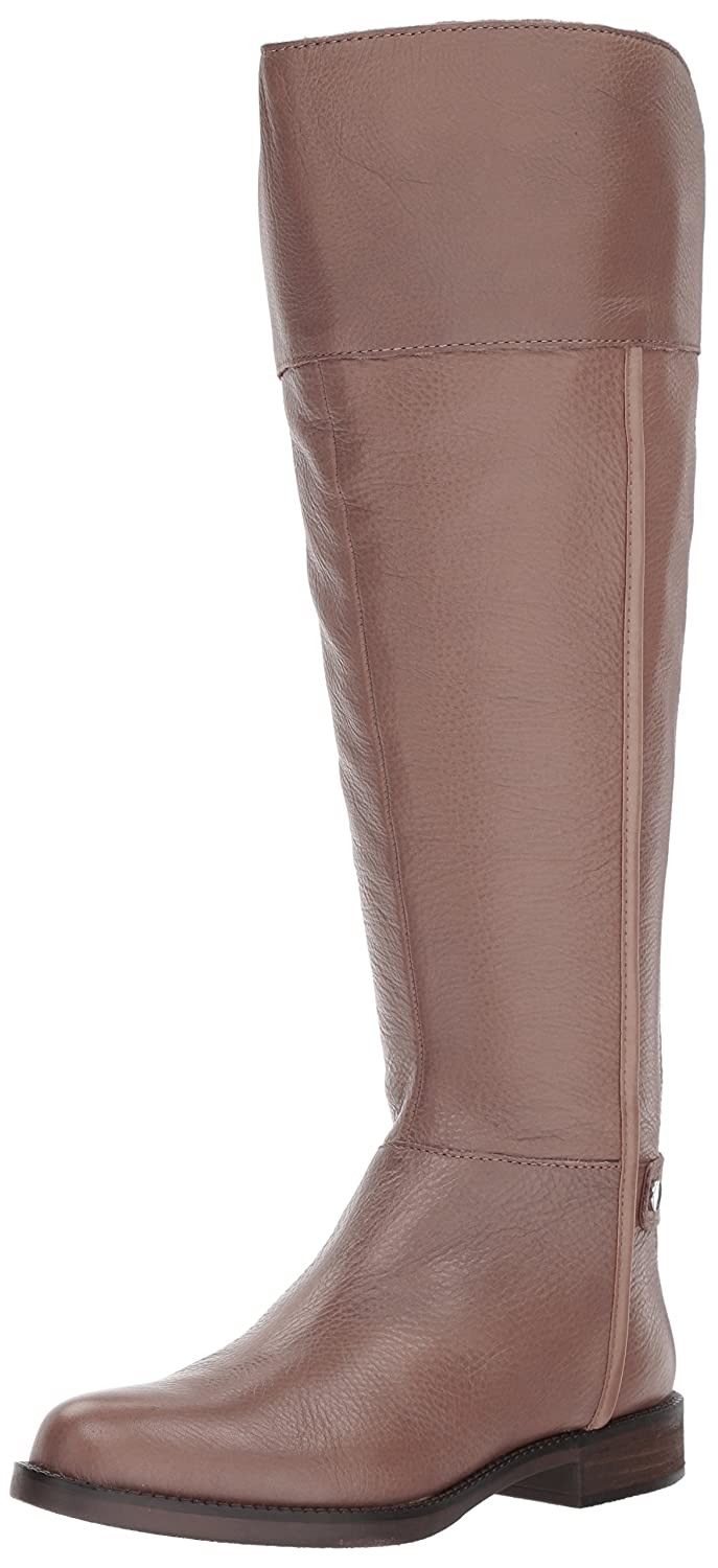 [Franco Sarto] Womens Christn WC Leather Round Toe Knee High Fashion Boots [並行輸入品]