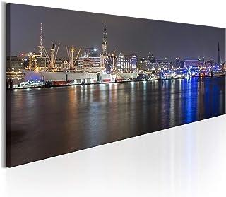 Hamburg Alster x00168 Wand Deko Leinwand Bilder