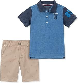 Baby Boys 2 Pieces Polo Shorts Set