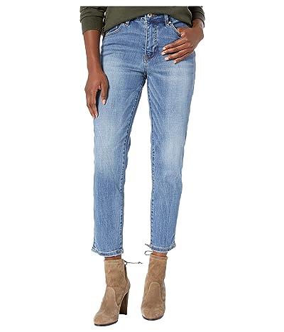 Jag Jeans Petite Petite Reese Vintage Straight Jeans (Aged Indigo) Women