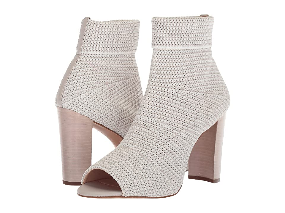 Avec Les Filles Mariah (Light Grey Stretch Woven) High Heels