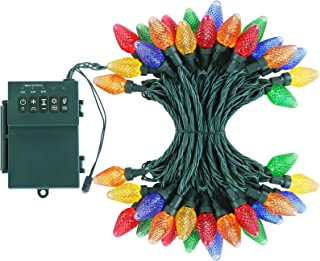 Best battery operated christmas lights with timer outdoor Reviews