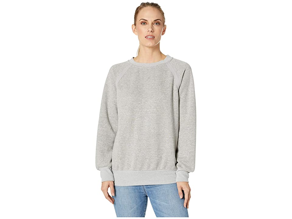 Prana Cozy Up Sweatshirt (Heather Grey) Women