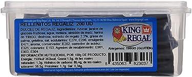 King Regal Rellenito Regaliz - estuche 200 unidades