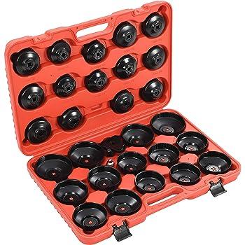 KFZTEILESCHNELLVERSAND24 per auto Set di 15 pezzi di tappi per filtro dellolio