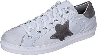 OSSIANI Sneaker Uomo Pelle Bianco