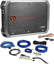 New Rockville RXA-T1 1500W Peak/750w RMS 2 Channel Car Stereo Amplifier+Amp Kit