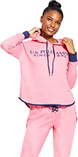 U.S. Polo Assn. Womens Cuffed Sleeve Athletic Hooded...