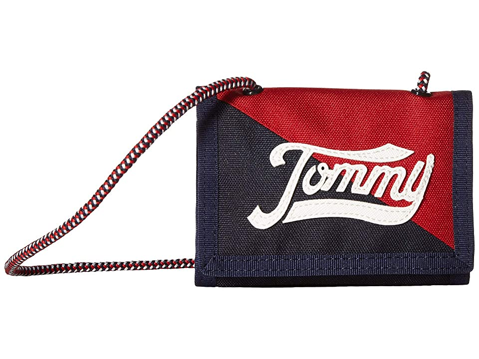 Tommy Hilfiger Daly Trifold Wallet (Navy/Multi) Wallet Handbags