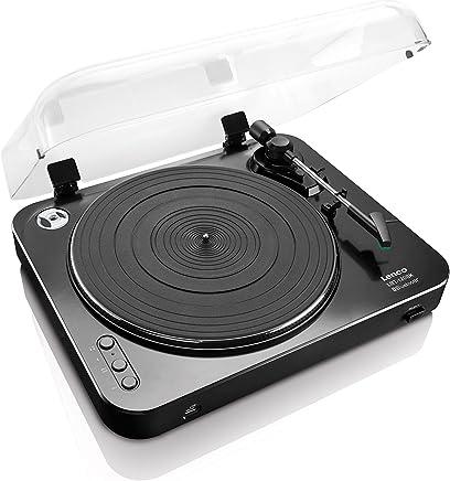 Tocadiscos LENCO LBT-120BK Color Negro, Bluetooth, USB ...