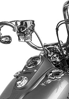Kruzer Kaddy KK1075 Skull Bar Mount Chrome