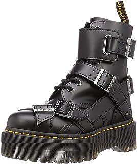 Dr. Martens Jadon Strap Smooth Bottines Boots Femme Noir