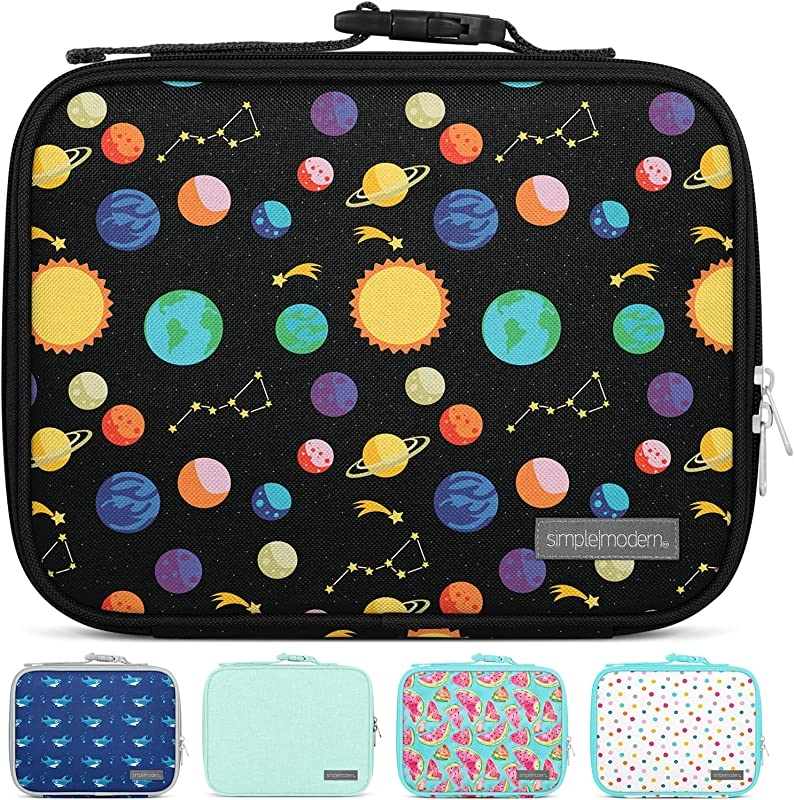 Simple Modern 3L Hadley Lunch Bag For Kids Insulated Women S Men S Lunch Box Pattern Solar System