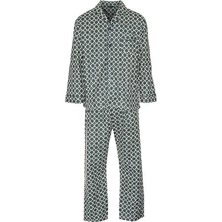 Champion New Mens Wyncette Brushed Cotton Pyjama Nightwear Lounge Wear Teal S