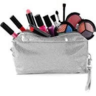 SmartEmily Girls Toys - Kids Makeup kit for Girl with Glitter Cosmetic Bag, Play Makeup for Girls...